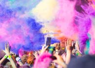 Holi Color Powder Cannons