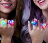 Light up Spike Jelly Rings