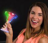 LED Margarita Glass