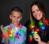 Christmas Light Bulb Necklace