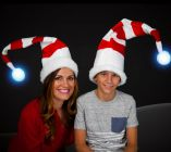 Light up Santa Claus Hat