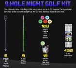 Nine-Hole Night Golf Package