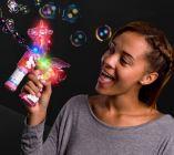 Light up Unicorn Bubble Gun