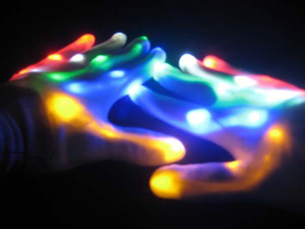 Skeleton Light up Gloves