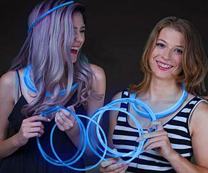 Glow Necklaces Blue (50/pcs)