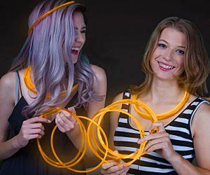 Glow Necklaces Orange (50/pcs)