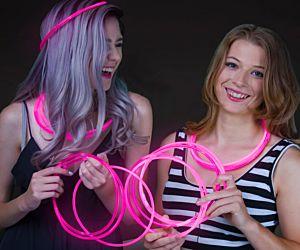 Glow Necklaces Pink (50/pcs)