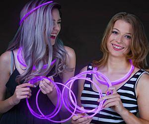 Glow Necklaces Purple (50/pcs)