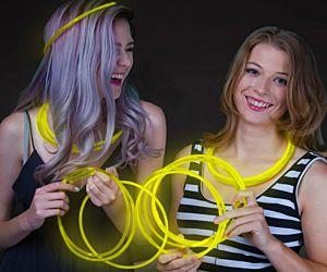 Glow Necklaces Yellow (50/pcs)