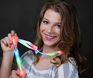 Flashing Glow Stick Lanyard Necklaces