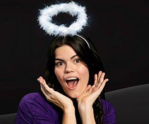 LED Angel Halo With White LEDs