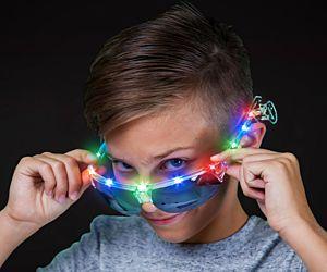 Red Green Blue Sport Glasses