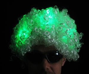 Light up Afro