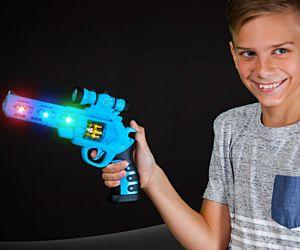 Flashing Revolver Gun