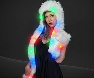 Light up Panda Hat