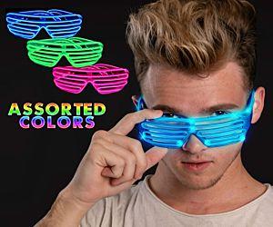 EL Shutter Shade Glasses
