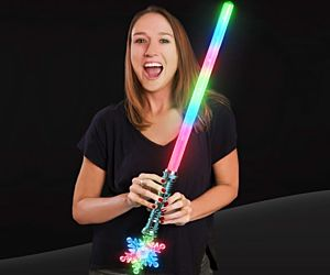 Light up Snowflake Sword