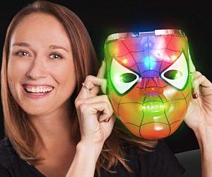 Light up Spider-man Mask