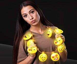LED Emoji Necklace