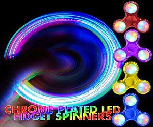 Metallic LED Fidget Spinner