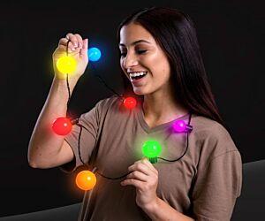 LED Big Ball Necklace