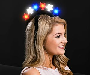 RWB Star Headband