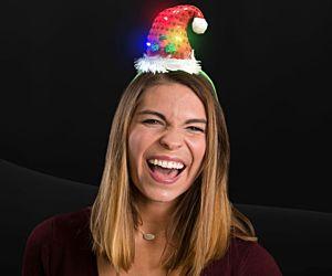 Light up Santa Claus Headband
