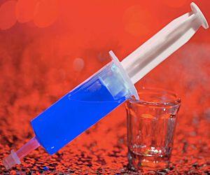 Jello Glo Shot Injector - Blue
