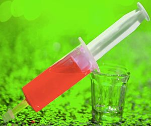 Jello Glo Shot Injector - Red