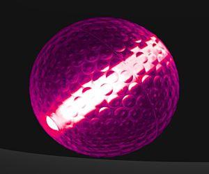 Pink Glow Stick Golf Balls