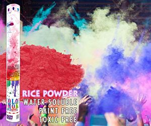 Holi Color Powder Cannon - Red