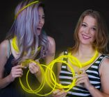 Glow Necklaces Yellow (50/pcs)