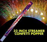 Streamer Confetti Popper (32 Inches)