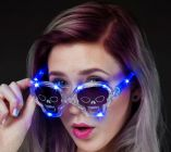 Skull Flashing Glasses