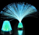 Flashing Fiber Optic Center Piece