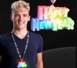 LED Happy New Year Bead Necklace