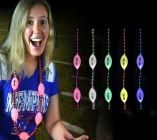 Flashing Football Bead Necklaces
