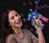 LED Octopus Bubble Blower