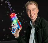 Flashing Minecraft Bubble Gun