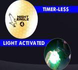 Night Eagle LED Golf Ball - White