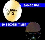 30 Second LED Range Golf Ball - White