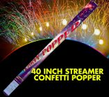 40 inch Streamer Confetti Popper