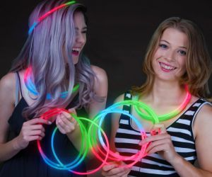 Tri-Color Glow in the Dark Necklaces (50/pcs)