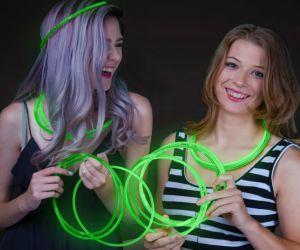 Glow Necklaces Green (50/pcs)