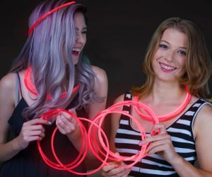 Glow Necklaces Red (50/pcs)