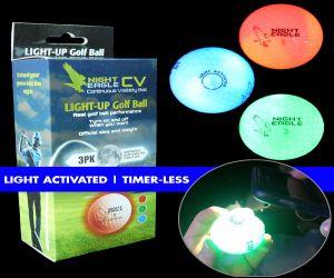 Night Eagle CV LED Golf Ball Retail Box