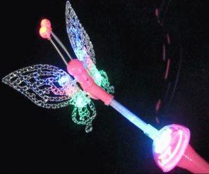 Butterfly Wands /w Spinning Ball