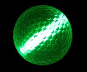 Toy Glow Night Golf Ball