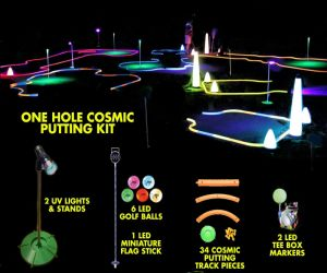 Cosmic Miniature Golf Putting Kit