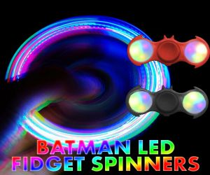 LED Batman Fidget Spinner